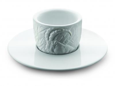 Amici Tassen Espresso MOU Steinbock 2er Set