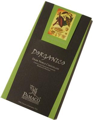 Pamaco Chocolade Dorganico 74%, 72h  125g