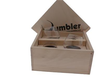 Wumbler mini in Holzbox 4er