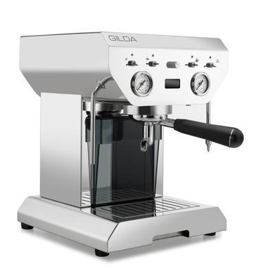 GILDA Siebträgerkaffeemaschine Inox - Eine Liebe fürs Leben