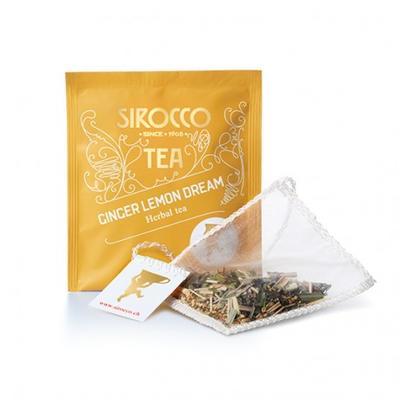 Sirocco Tee Ginger Lemon Dream - Ingwer-Zitronengras-Tee Bio 20er