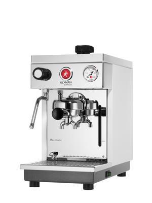 Olympia Express Kaffeemaschine Maximatic weiss