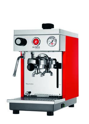 Olympia Express Kaffeemaschine Maximatic rot
