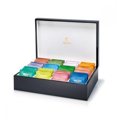 Sirocco Tee Box gross, schwarz 110 Stk ohne Inhalt