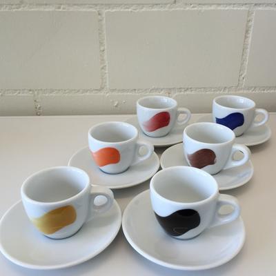 Dä Kafimaa Tassen Millecolori Espresso 6er Set