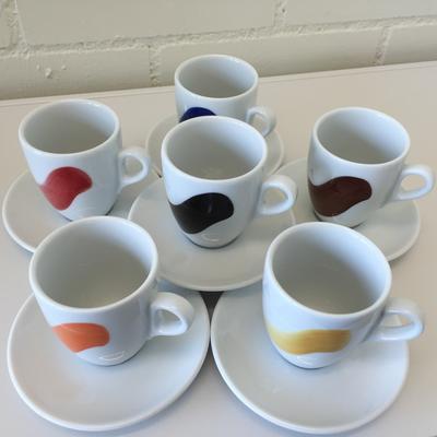 Dä Kafimaa Tassen Millecolori Cafe Creme 6er Set
