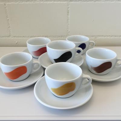 Dä Kafimaa Tassen Millecolori Cappuccino 6er Set