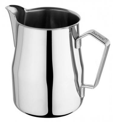 Baristazubehör Milchkännchen Chromstahl mit Spezial-Ausguss für Latte Art