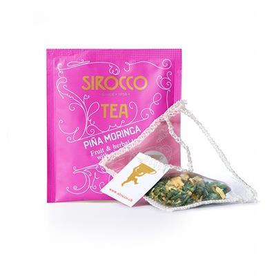 Sirocco Tee Pina Moringa - Früchte-Kräuterteemischung mit Ananas Bio 20er