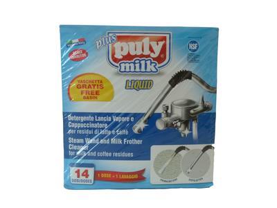 Baristazubehör Puly MILK Plus Liquid 14 x 25ml Reinigungsmittel