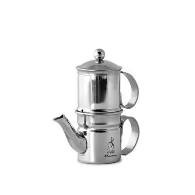 Caffettiera Napoletana Kaffeezubereiter Inox 1-2 Tassen