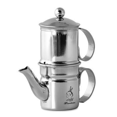 Caffettiera Napoletana Kaffeezubereiter Inox 6 Tassen