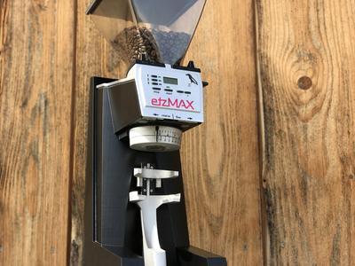 etzMAX Mühle lightW mit integrierter Waage schwarz
