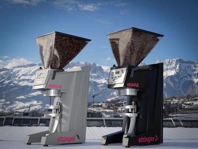 etzMAX Mühle mediumW mit integrierter Waage silber matt (nicht aufrüstbar)