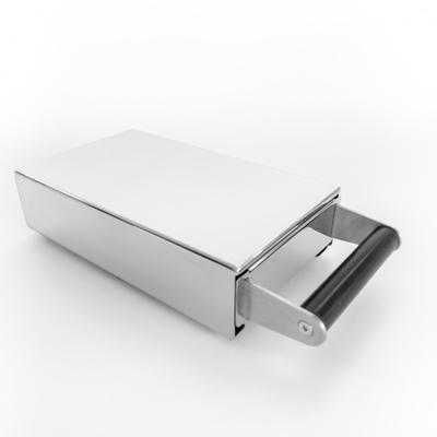 Baristazubehör Sudschublade Mini Inox 14 x 24 x 6.5cm