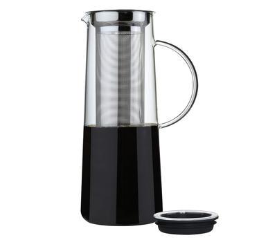 Zassenhaus Aroma Brew Glaskrug für hot und coold brew 1 Liter