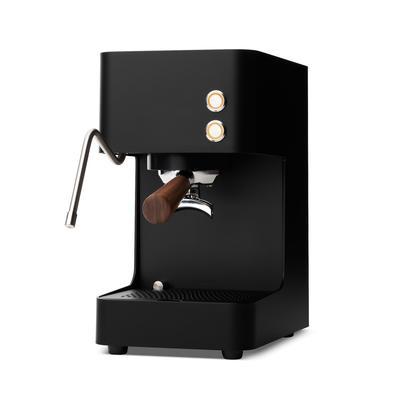 Zuriga Siebträgerkaffeemaschine mit Dampf E2-S SCHWARZ