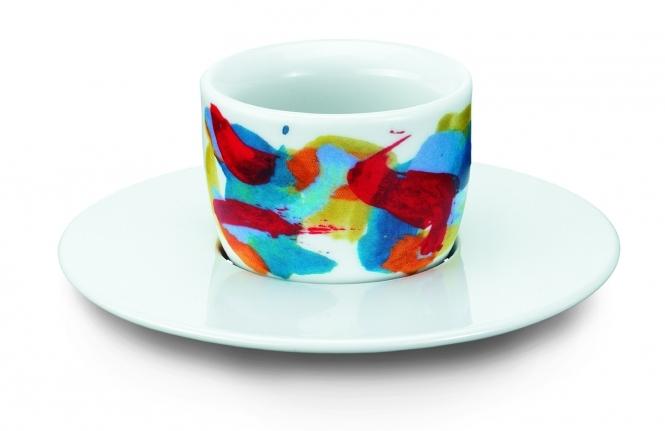 Amici Tassen Espresso MOU rot-hellblau 1er