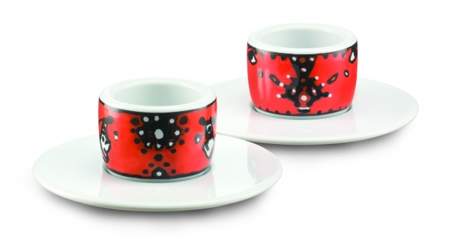 Amici Tassen Espresso MOU Sandoz Animal 2er Set