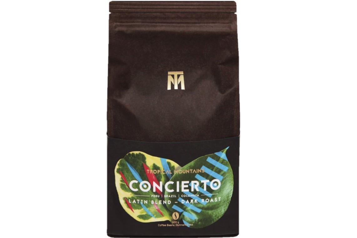 Tropical Mountains Bohnen CONCIERTO Bio Fairtrade