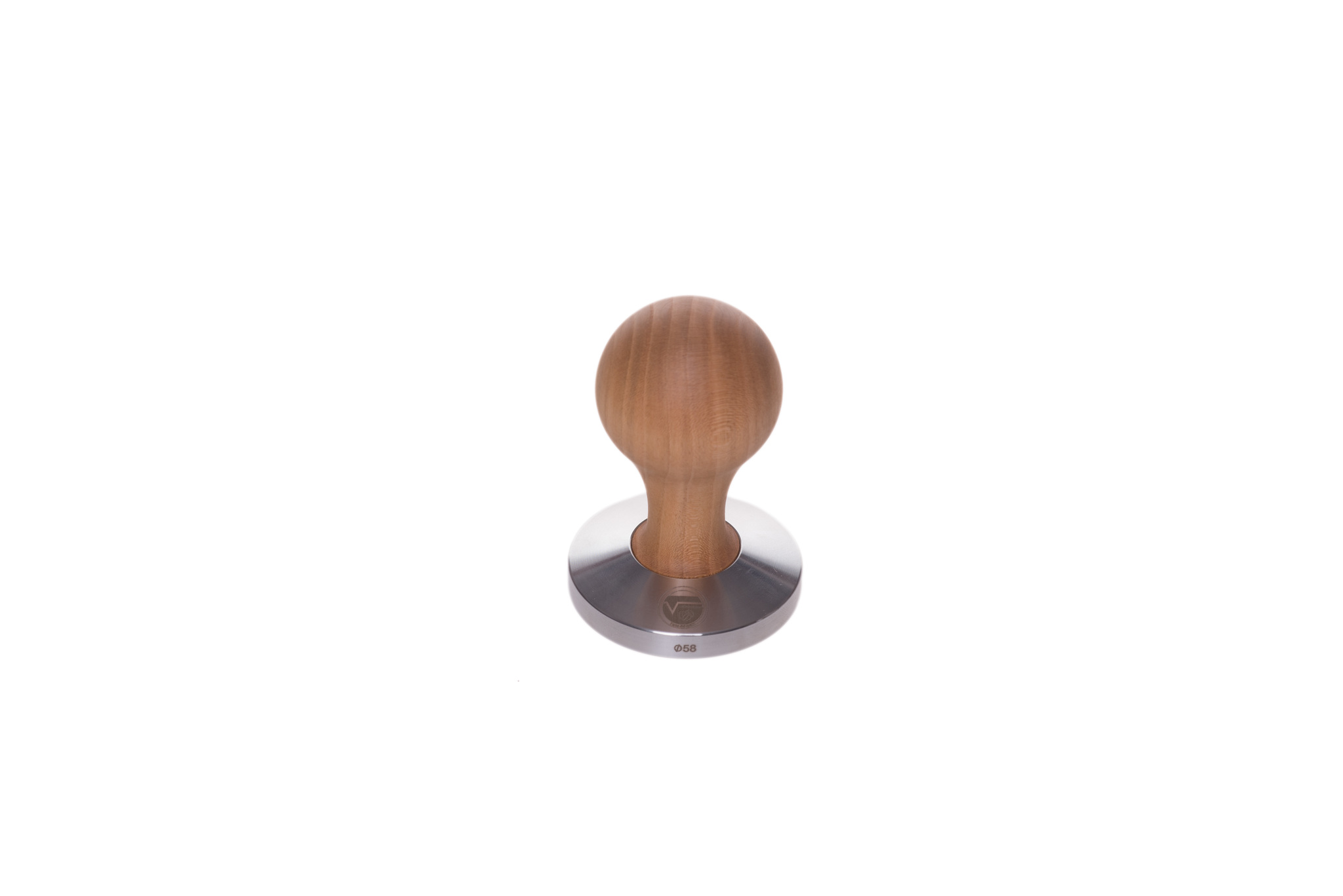 Vitudurum Tamper 58mm Kirschholz Swiss Made